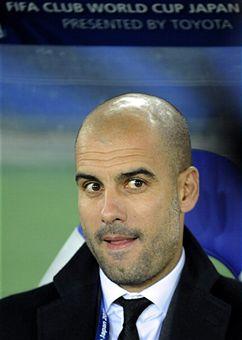 Guardiola si congratula con Luis Enrique