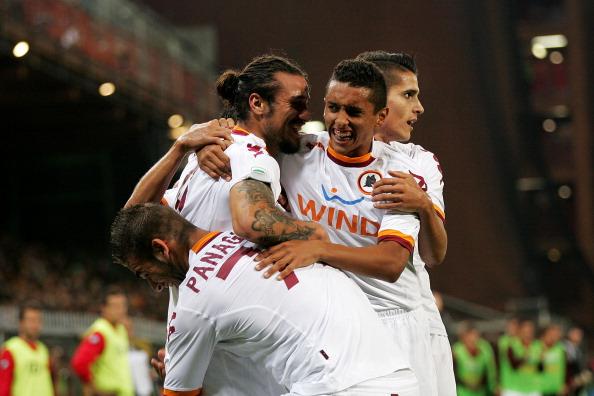 Genoa Roma 2-4 video e foto