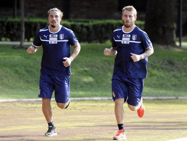 Italia – Danimarca, niente riposo per De Rossi ed Osvaldo