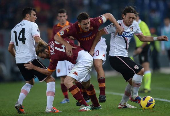 Roma Palermo 4-1 foto e video