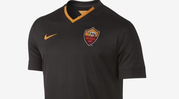 In vendita la terza maglia della Roma per la Champions League