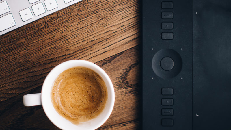 The Partnership of Coffee and Tech