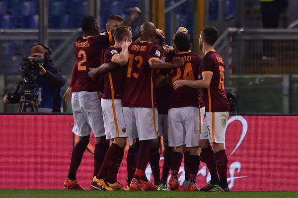 Immagini Roma-Palermo 5-0