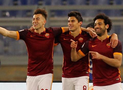 Le pagelle Roma-Fiorentina 4-1, Perotti, El Shaarawy e Salah fanno paura, la mano di Spalletti si vede