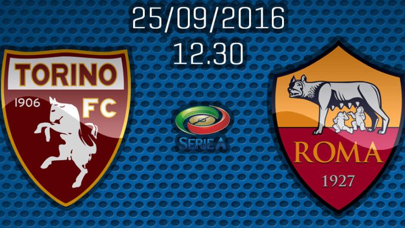 Torino-Roma la formazione ufficiale, De Rossi torna a centrocampo, Dzeko confermato in attacco