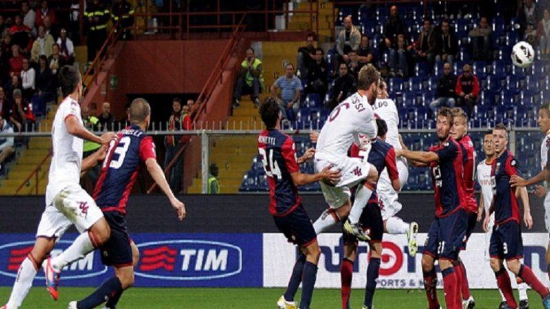 La Roma passa a Genova con un autogol