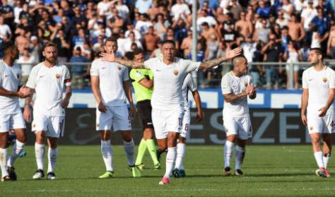 Atalanta-Roma 0-1, i giallorossi dopo una partita sofferta espugnano Bergamo con Kolarov