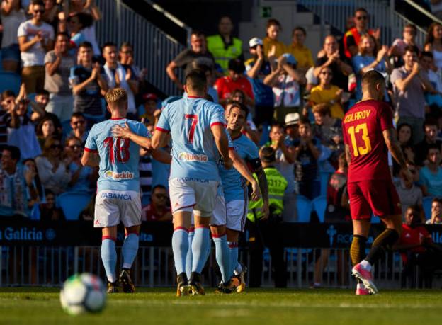 Celta Vigo-Roma 4-1, una Roma inguardabile sparisce dal campo dopo soli 45′