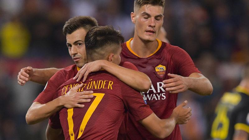 Le pagelle dei quotidiani di Roma-Frosinone 4-0