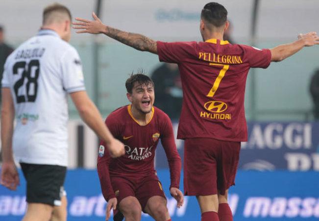 Le pagelle dei quotidiani di Parma-Roma 0-2