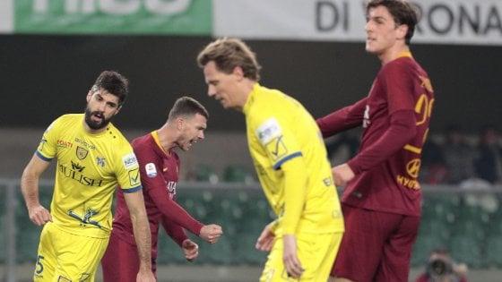 Le pagelle dei quotidiani di Chievo-Roma 0-3
