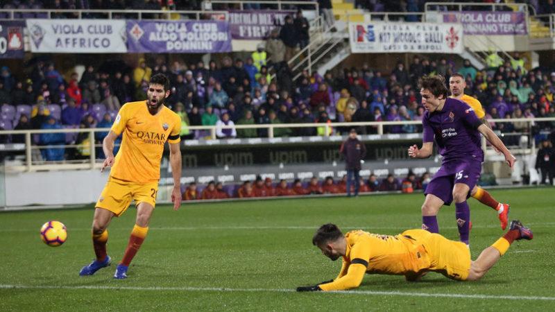 Le pagelle dei quotidiani dopo Fiorentina-Roma 7-1