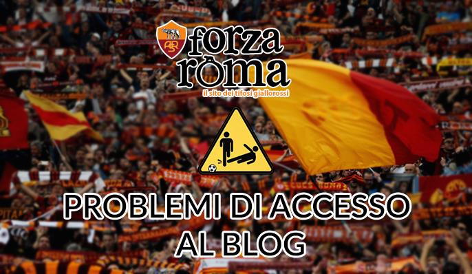 AGGIORNAMENTO 17 MARZO   Problemi di accesso al blog