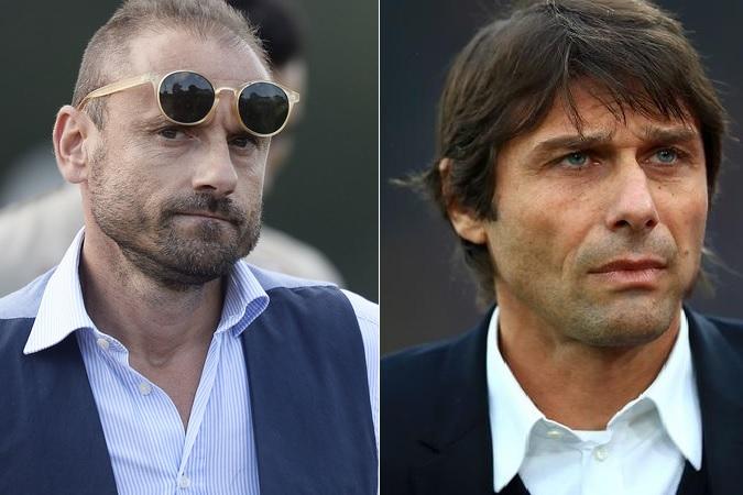 Incontro tra Petrachi e Conte durante Torino-Milan