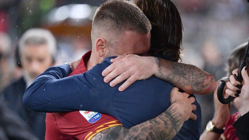 Così De Rossi e altri tre senatori volevano Totti via dalla Roma