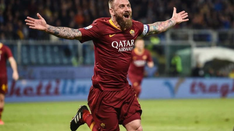De Rossi saluta i suoi tifosi, il 26 maggio l'ultima partita