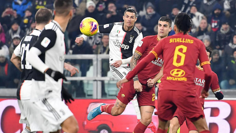 Focus sulle pagelle di Juventus-Roma in Coppa Italia: Smalling tra i pochi a salvarsi
