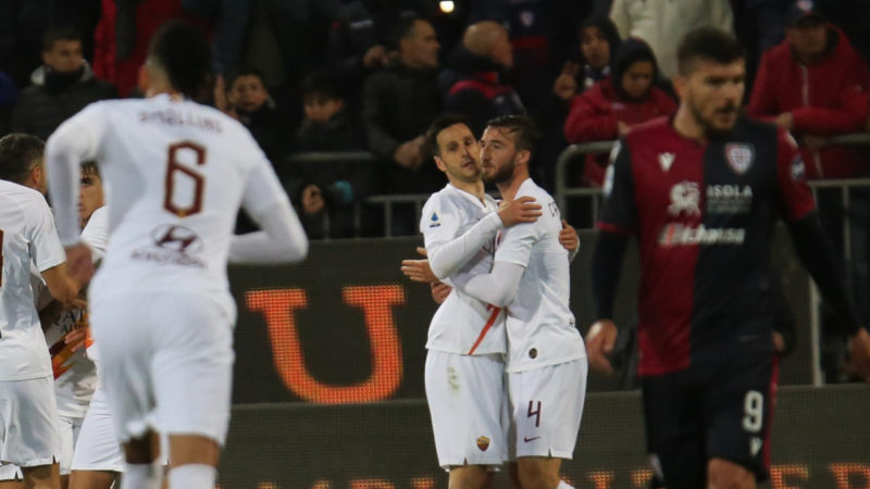 Le pagelle di Cagliari-Roma: finalmente Kalinic è arrivato nella Capitale