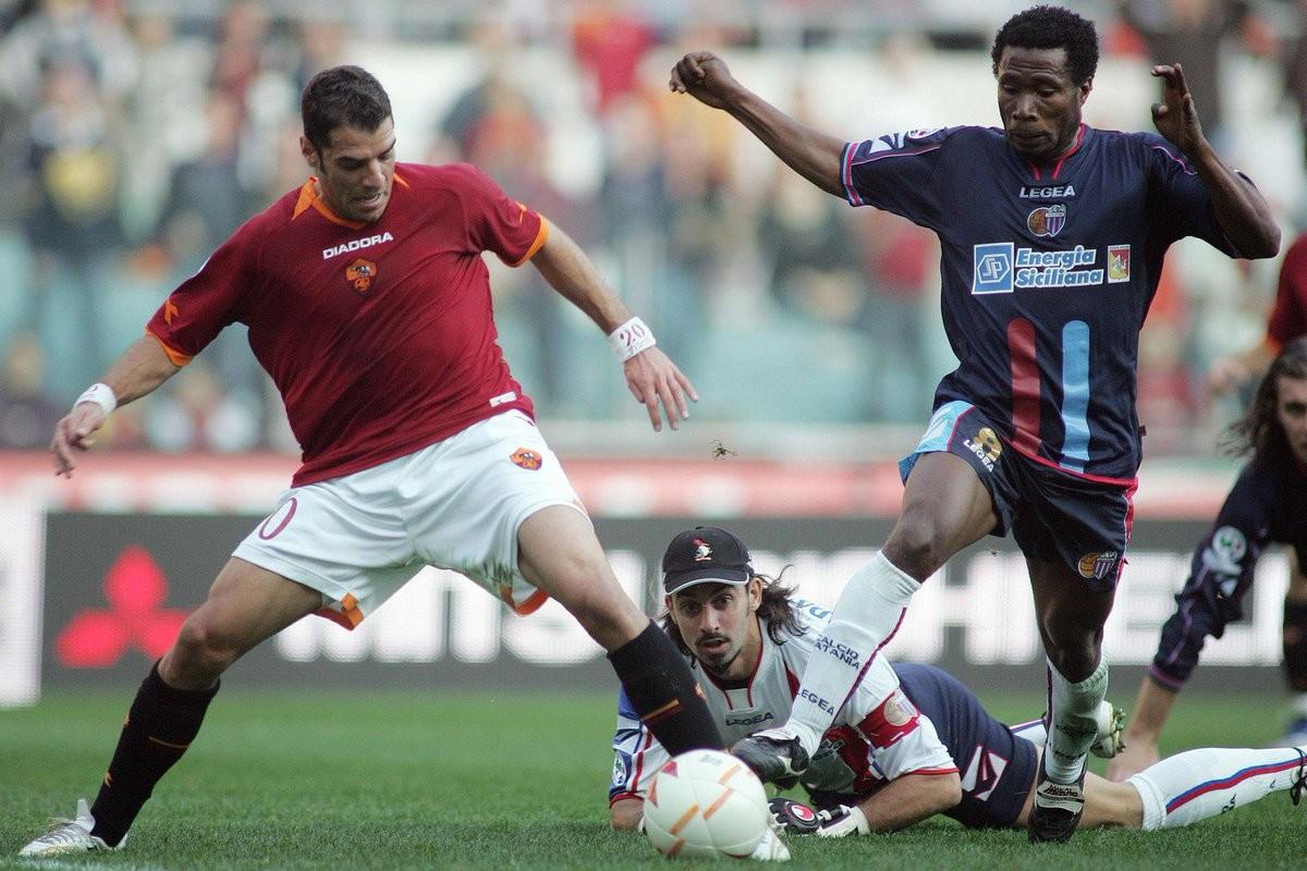 Quando la Roma senza attaccanti rifilò 7 goal al Catania
