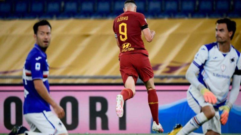 Le pagelle di Roma-Sampdoria: i migliori sono Mirante e Dzeko