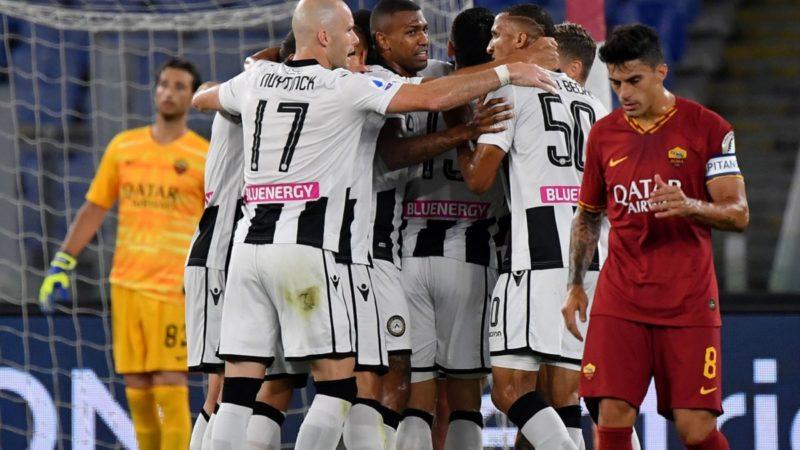 Le pagelle di Roma-Udinese: si salva solo Mirante