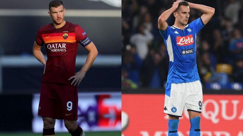 Il giorno decisivo per il futuro di Milik, Dzeko e Suarez: la Roma attende