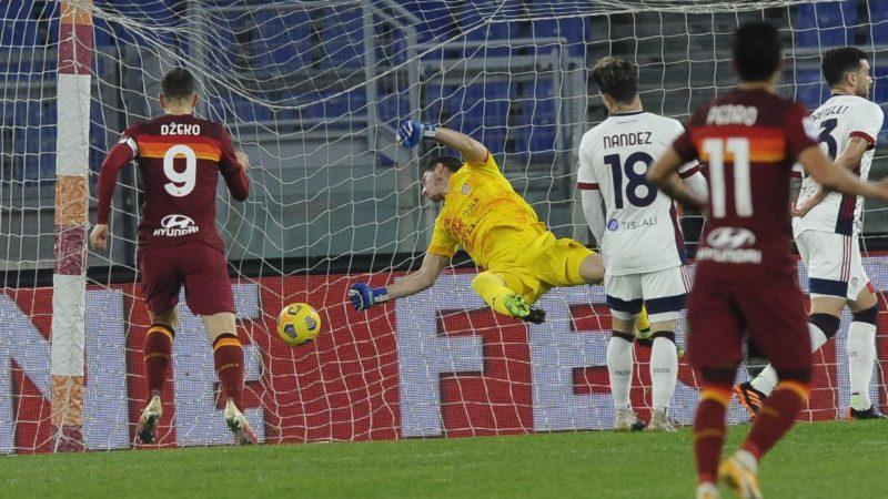 Le pagelle di Roma-Cagliari: bene Dzeko, Pedro è in calo di forma
