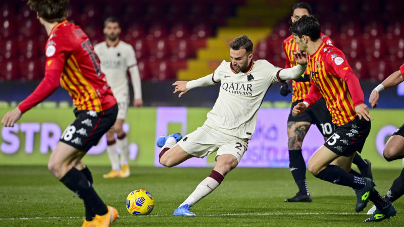 Le pagelle di Benevento-Roma: stavolta Spinazzola non basta