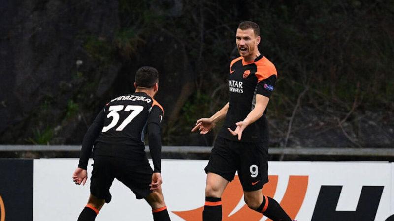 Migliori e peggiori di Braga-Roma 0-2: il grande ritorno di Dzeko