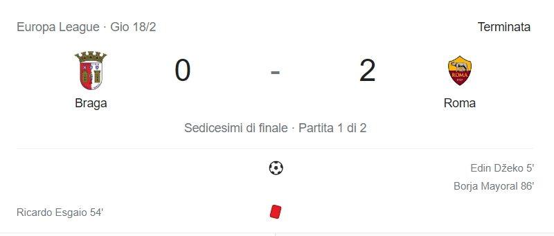 Roma ad un passo dagli ottavi di Europa League