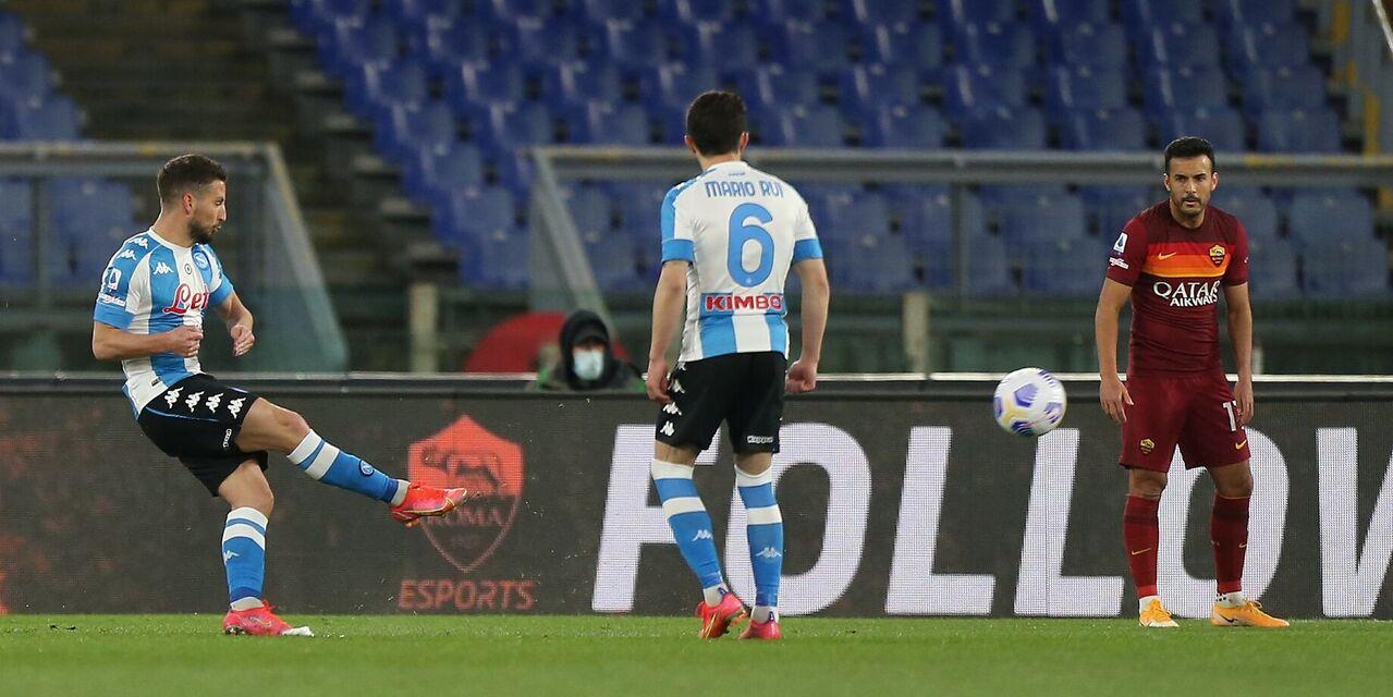 Migliori e peggiori in Roma-Napoli 0-2: si salva Pellegrini, frittata Pau Lopez