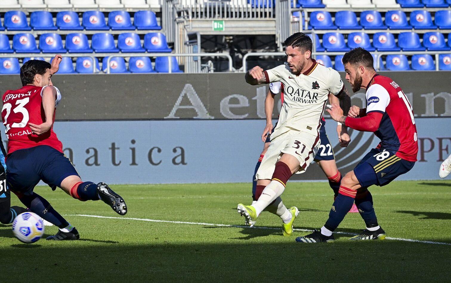 Migliori e peggiori in Cagliari-Roma: si salva Perez, irriconoscibile Villar