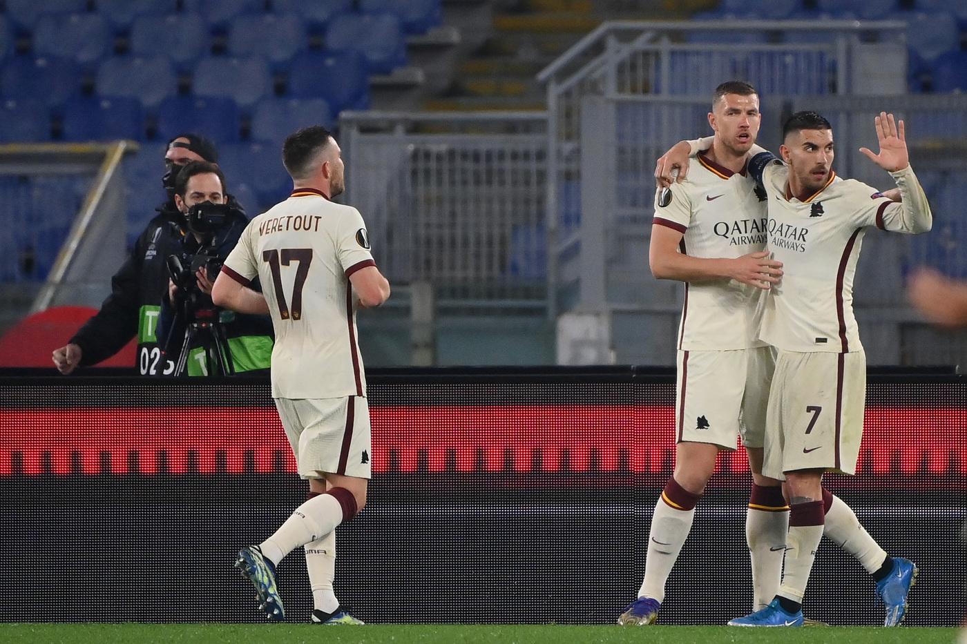 Migliori e peggiori in Roma-Ajax 1-1: serataccia Cristante, Dzeko uomo squadra