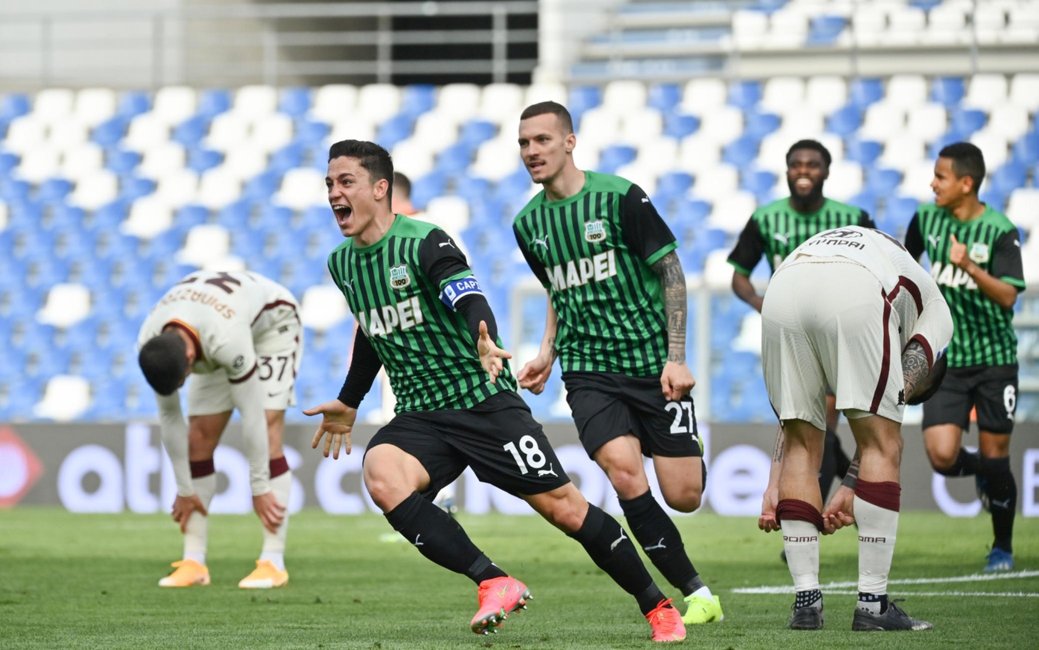 Migliori e peggiori in Sassuolo-Roma 2-2: si salva Pau Lopez, male tutto l'attacco