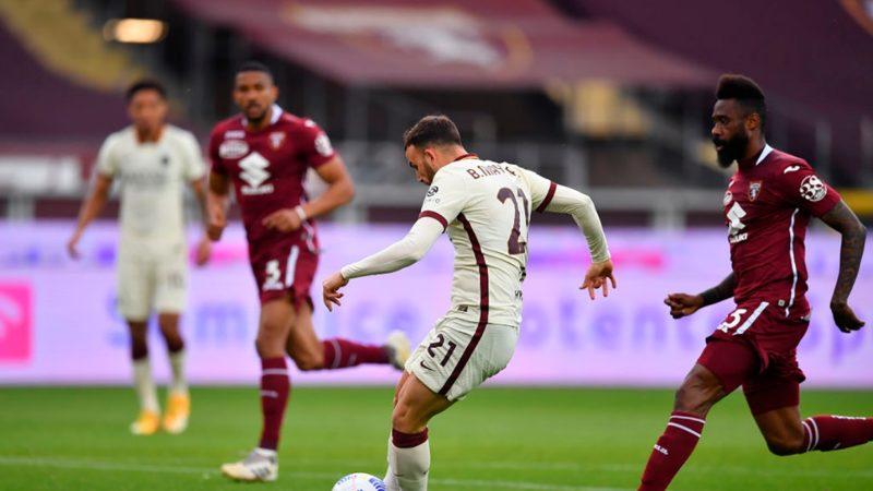 Migliori e peggiori in Torino-Roma 3-1: si salva Borja Mayoral, difesa da incubo