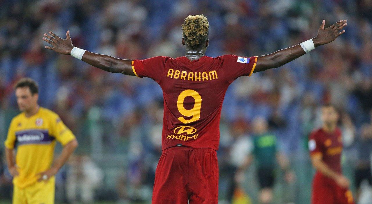 Migliori e peggiori in Roma-Fiorentina: Abraham certezza, ingenuità Zaniolo