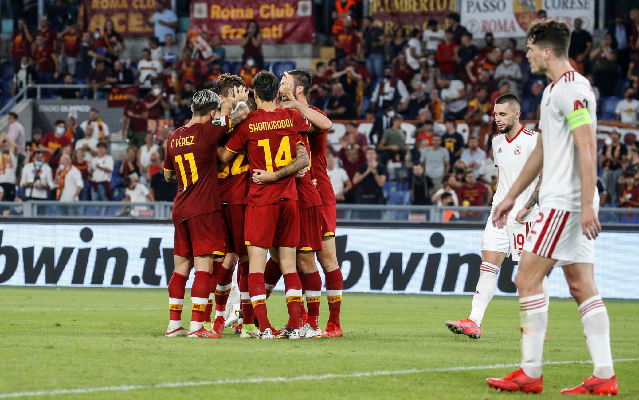 Migliori e peggiori in Roma-CSKA Sofia: Pellegrini super, compitino Pedro