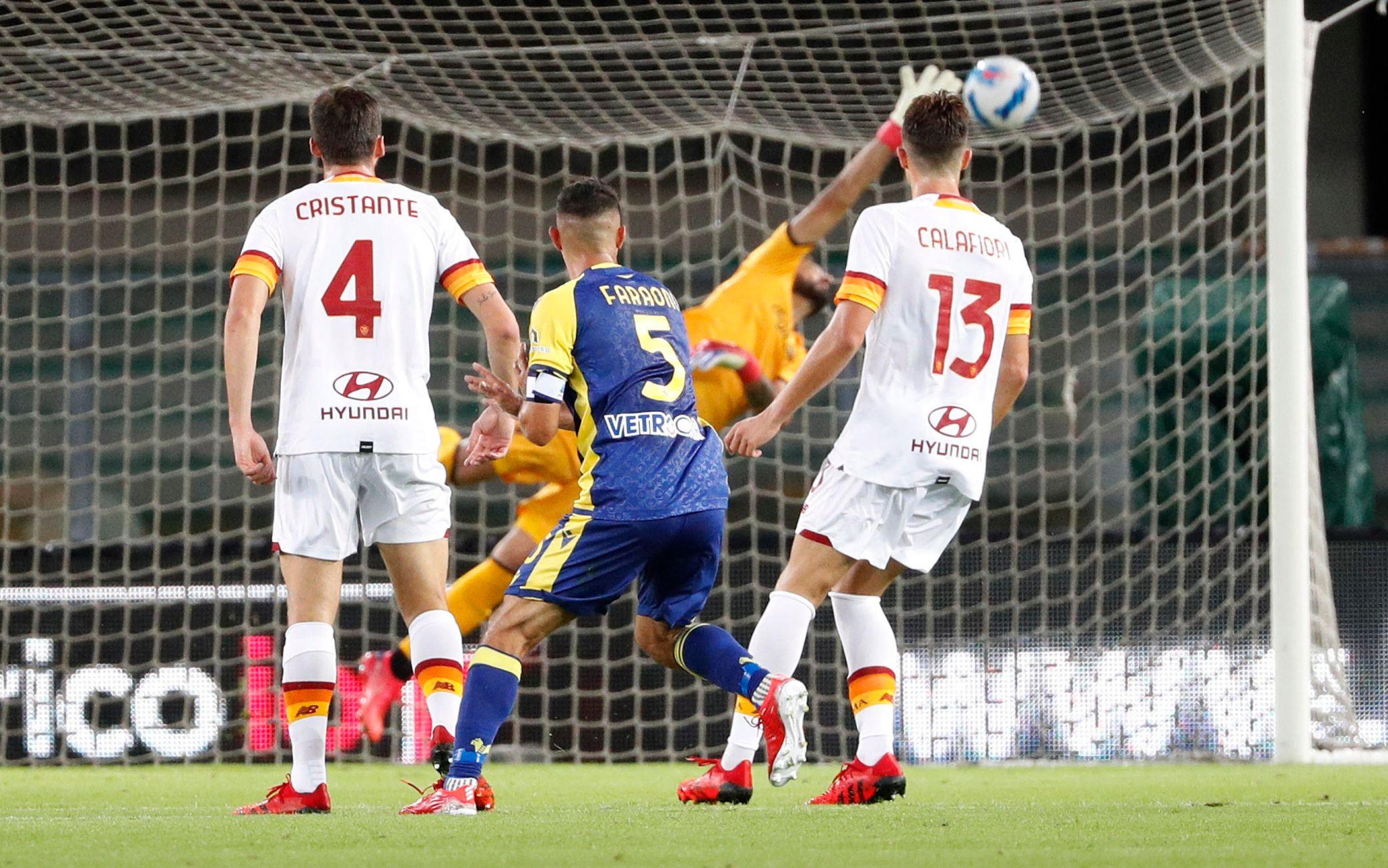 Migliori e peggiori di Verona-Roma: conferma Pellegrini, Zaniolo ancora in ritardo